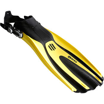 Adjustable diving fins