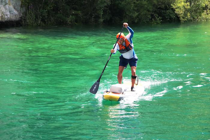 Surfing habits for stand up paddle