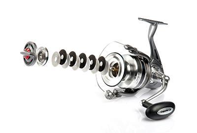 Fishing reel drag