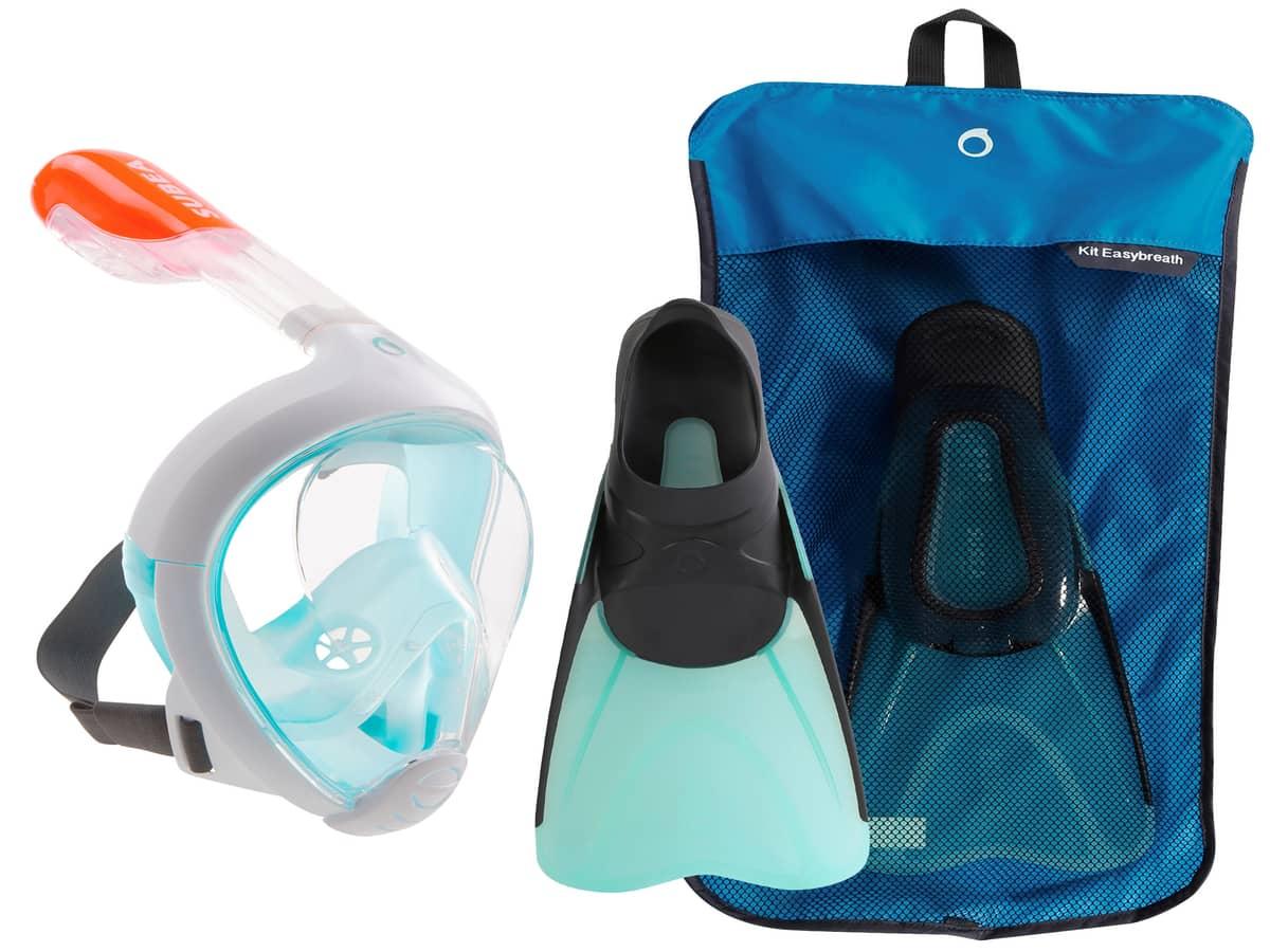 Snorkeling equipments
