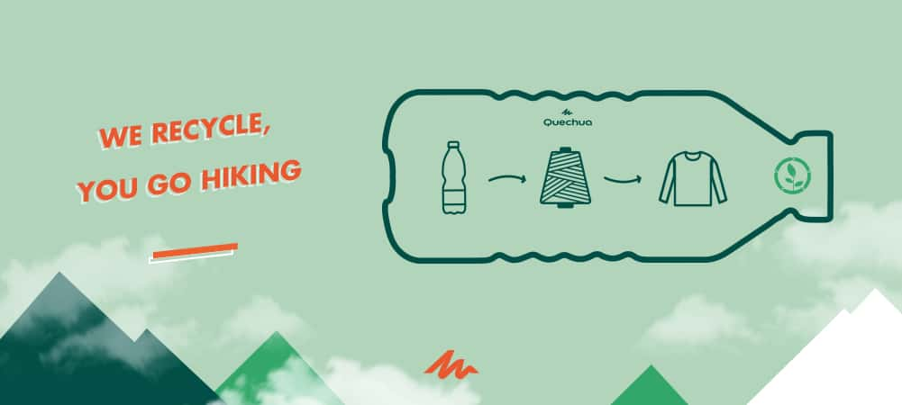 PLASTIC BOTTLE recycling infographic