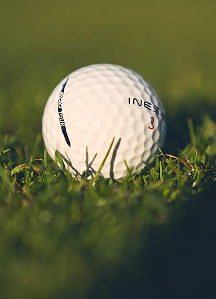 Inesis golf ball