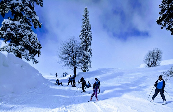 plan your skiing tour