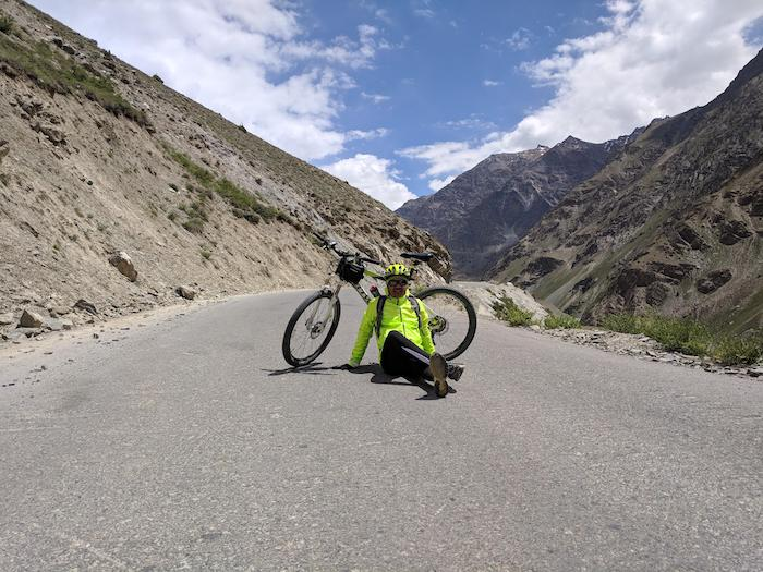 Highway cycle ride - b twinr