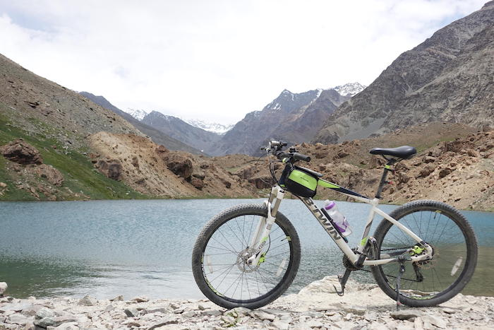 Memorable leh cycle ride with b twin cycle