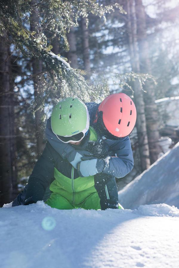 Kids snow gloves