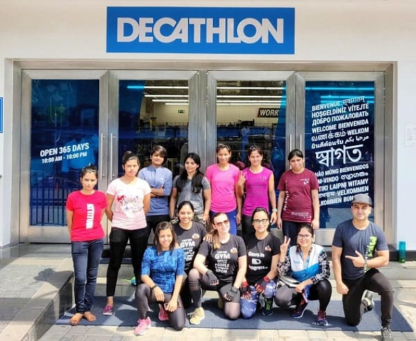 cross training with decathlon