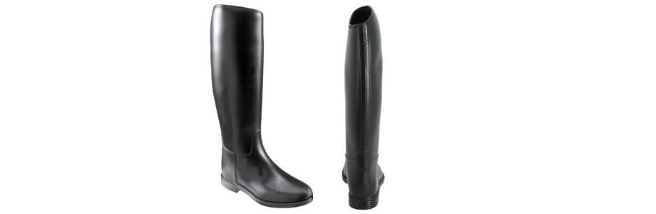 LEATHER MATERIAL BOOTS