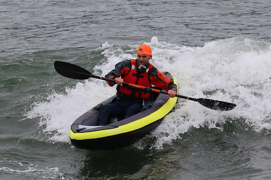 mixing kayaking and fitness