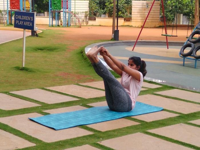 Precautions for yoga in periods