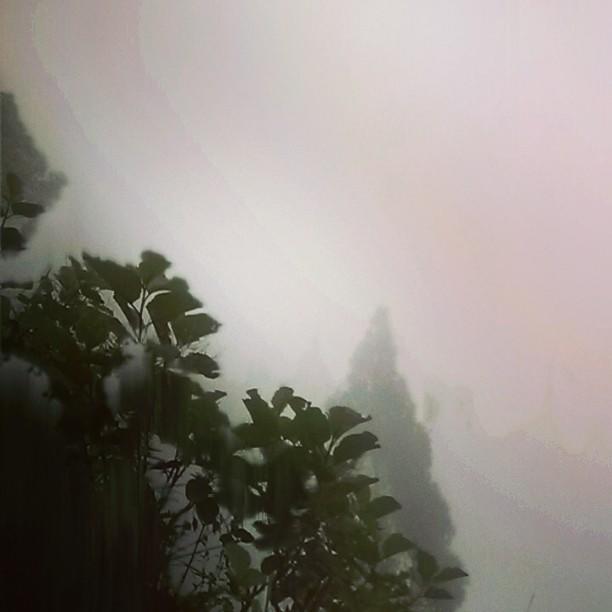 Rain in the mountain