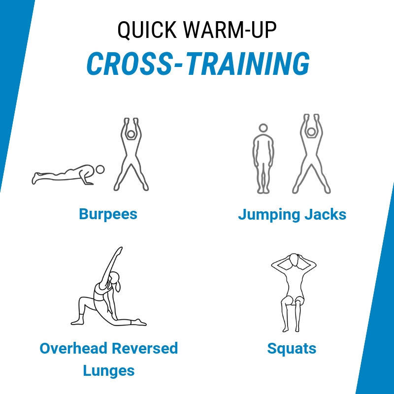 cross training warmup