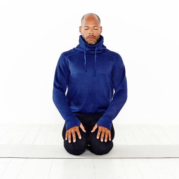 Breath through belly exercise