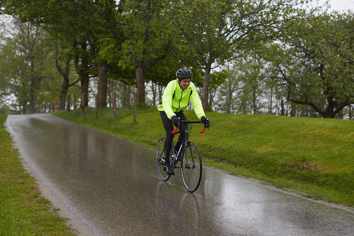 Cycling in monsoon