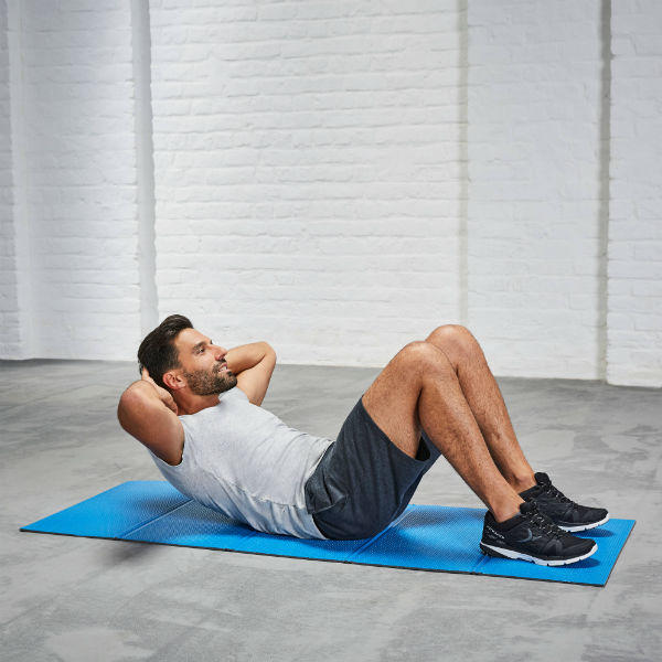 ABDOMINAL MUSCLES exercise