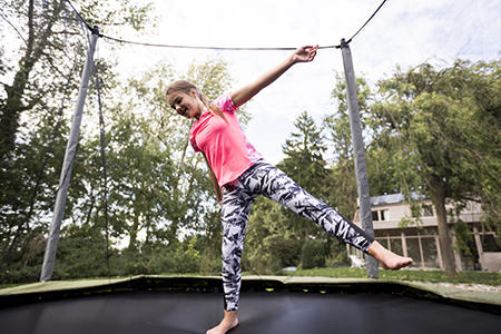 Trampolining for kids