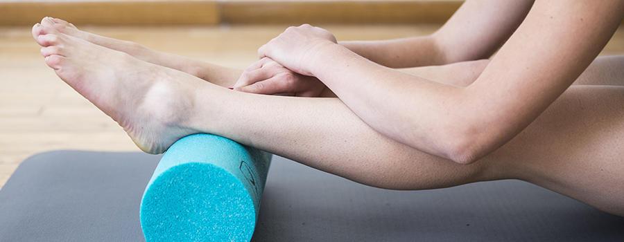 girl practicing pilates
