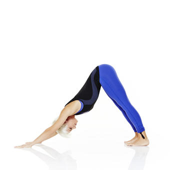 downward facing exercise