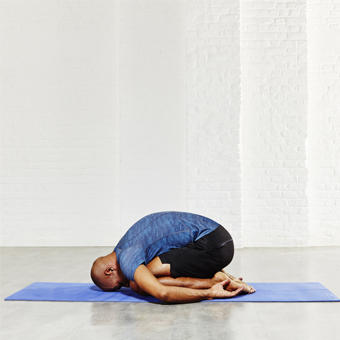 child pose exercise