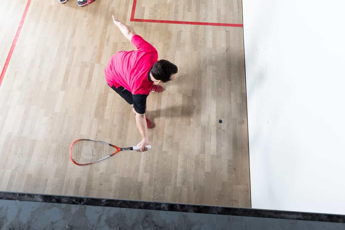 people playing squash