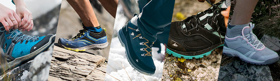 choosing hiking boots