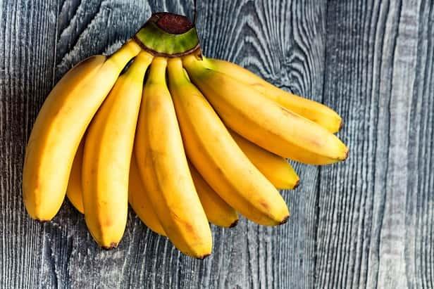 banana - potassium rich food