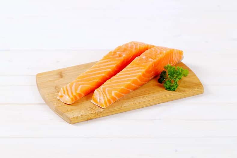 salmon for badminton player