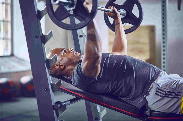 how to do bench press