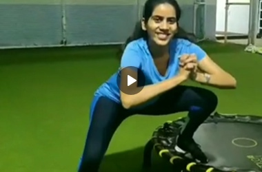 Trampoline workout by Mrunmayee Mhatre