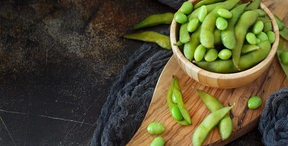 protein edamame beans