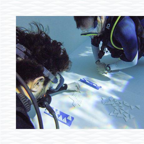 exercice plongée piscine dominos subea