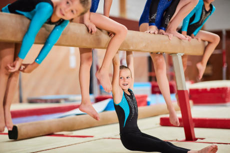 The 8 good reasons to put your child in Women's Artistic Gymnastics