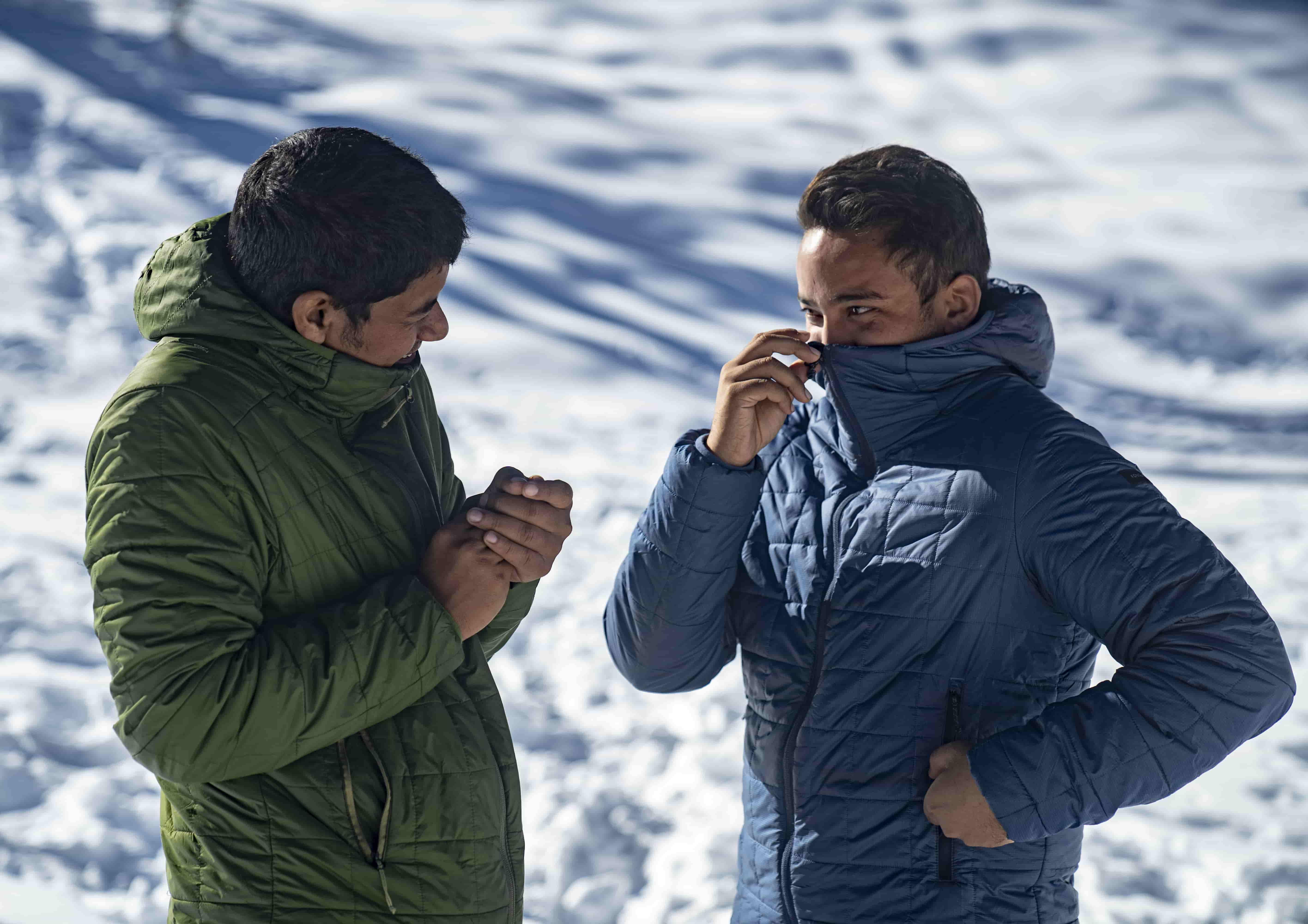 Trek 100 : The Padded Jacket for Winter