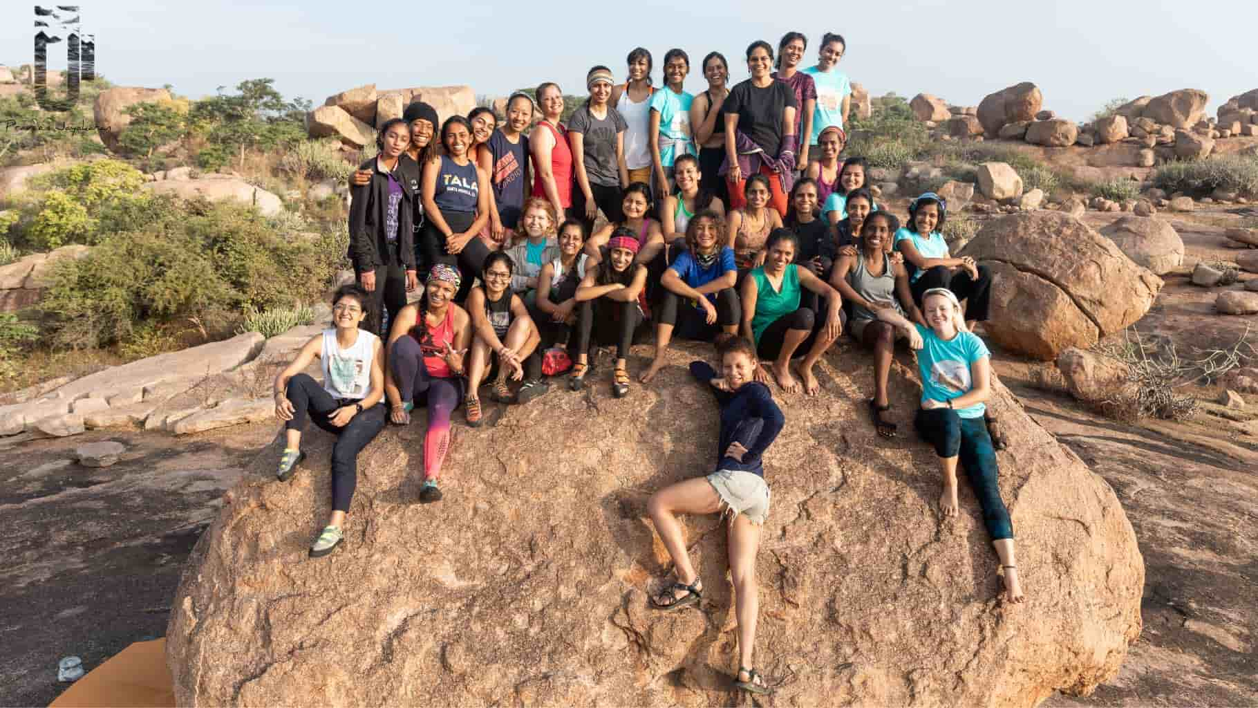 Climb Like a Woman : A Community of Women Empowered by the Outdoors