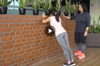 How to do basic exercises at home by Geeta Rajendram
