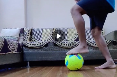 Football drills at Home by Himesh Mistry