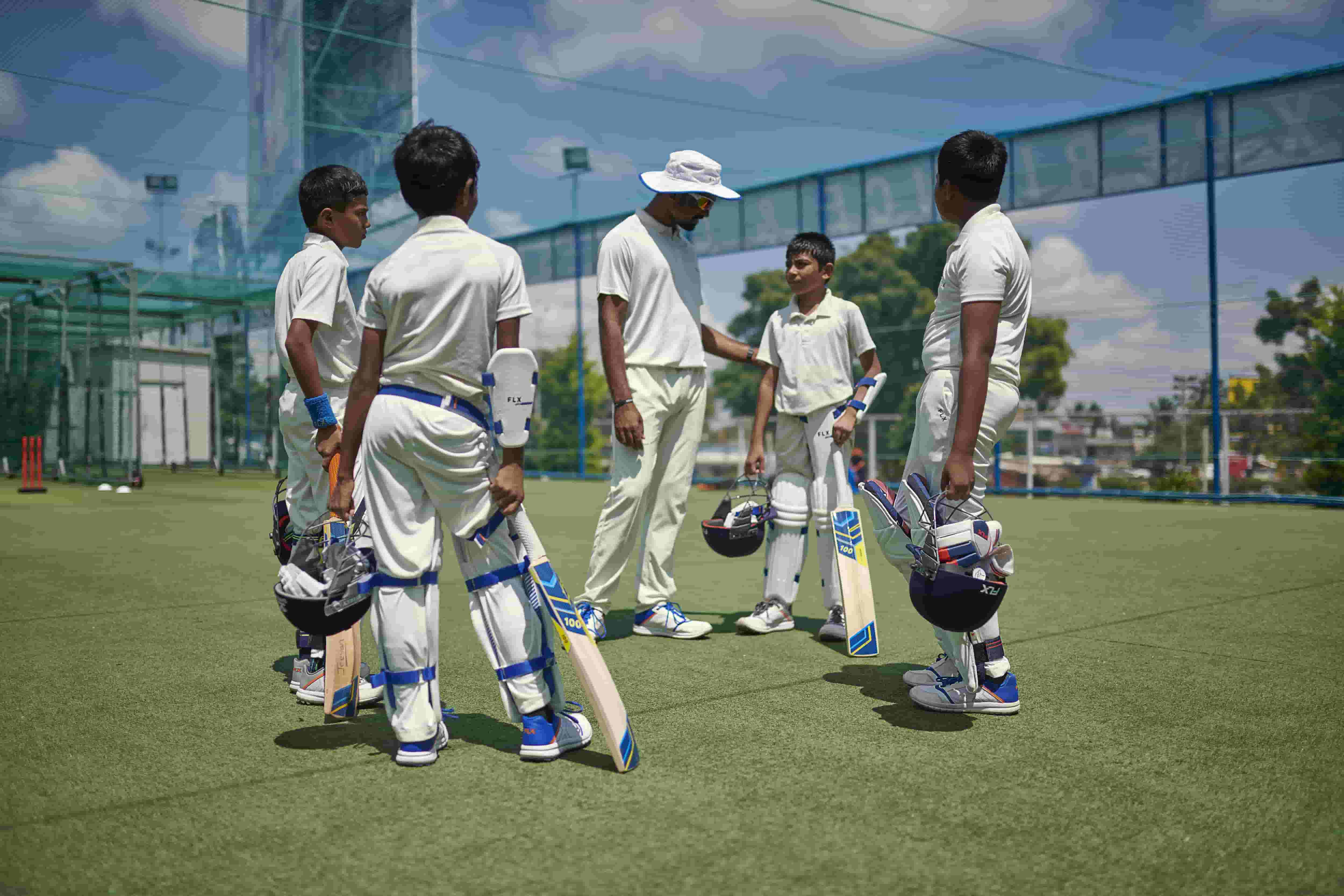 Warm-Up Exercises and Training Routines for Junior Cricketers