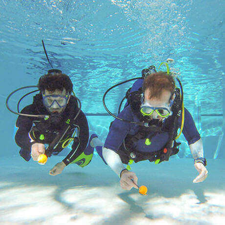 Have Fun While Diving : Even at the Swimming Pool