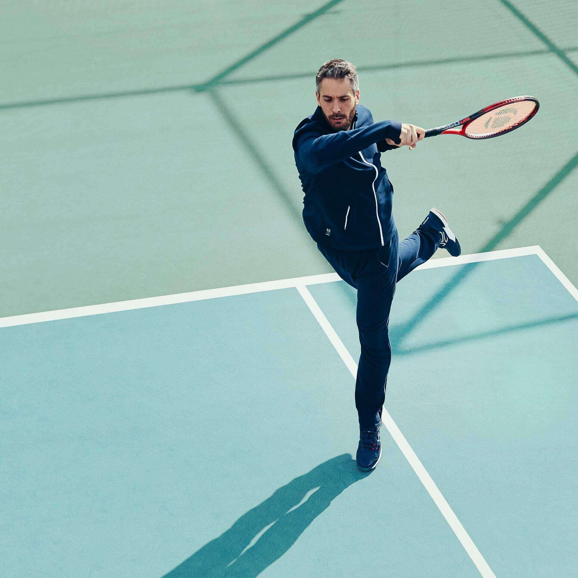 Tennis : Become a Swing Volley Expert