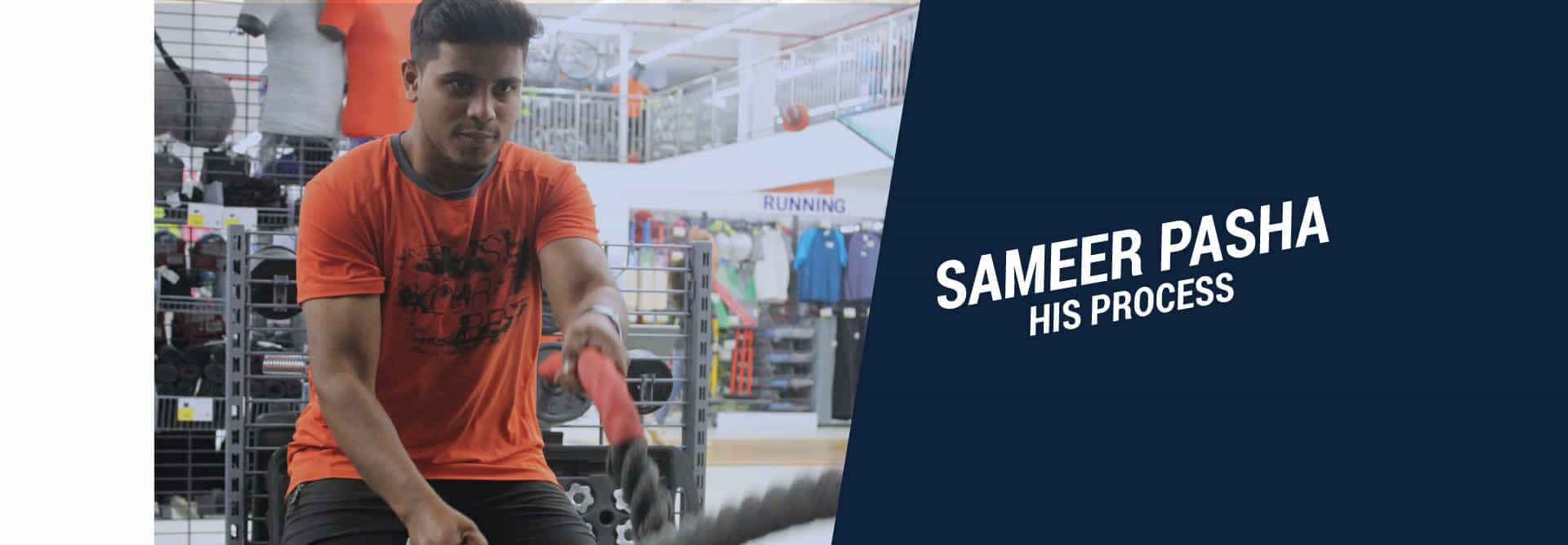 Sameer Pasha - His Process
