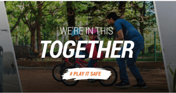 We're In This Together: Play It Safe & Reduce The Risk