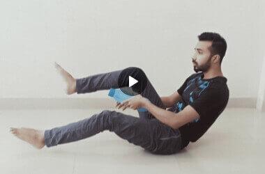Fitness at home by Debasish Bachar