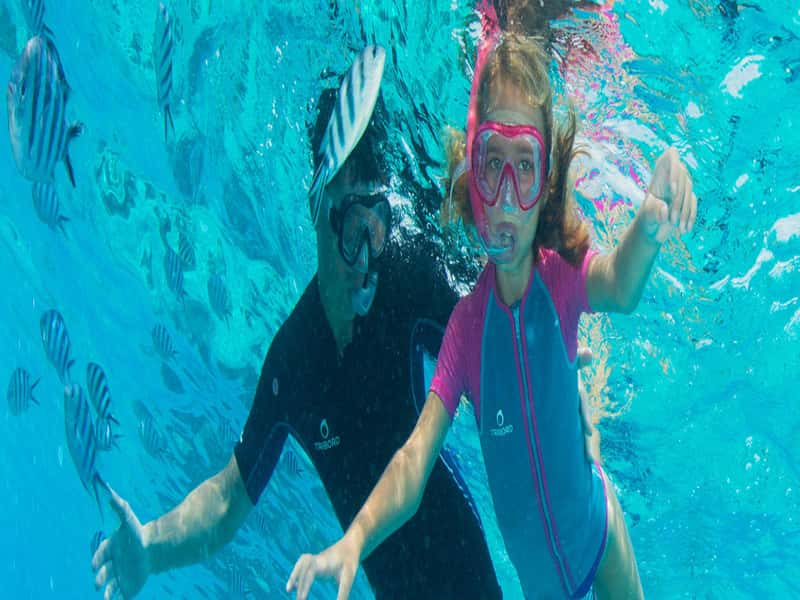 How to Go Snorkeling With Children?