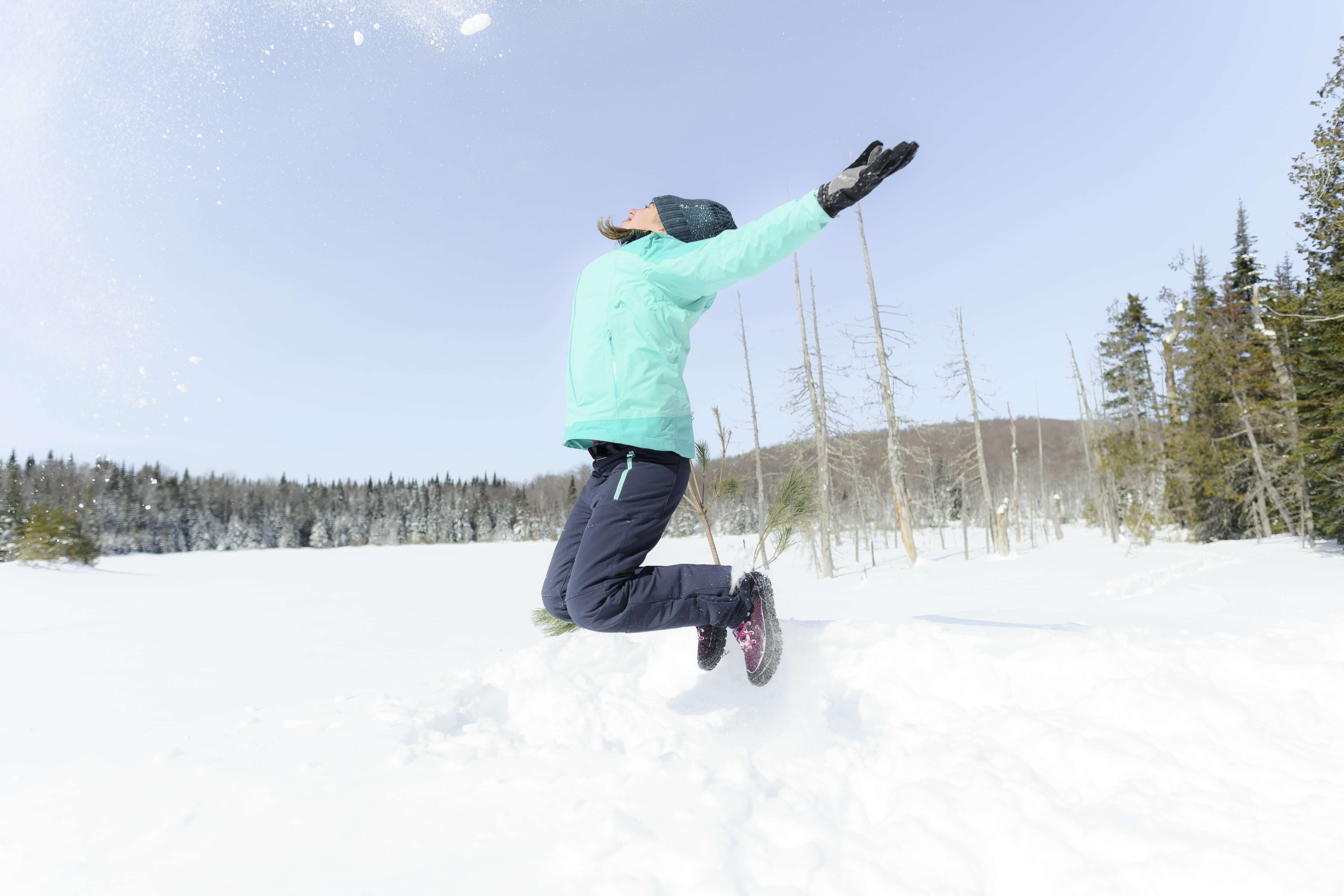 Hiking on the snow: an outfit for everyone