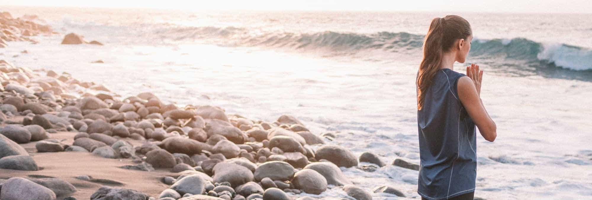 Learn How to Do a Basic Sun Salutation (11 Steps)