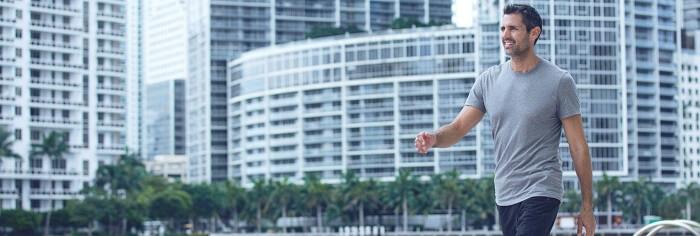 Health Benefits: Active walking at endurance level