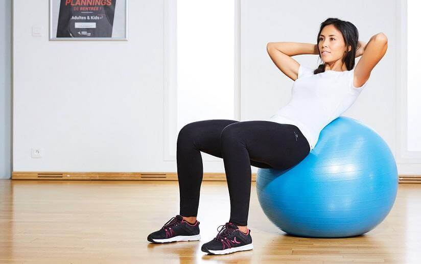 Five Reasons to Sit on a Gym Ball