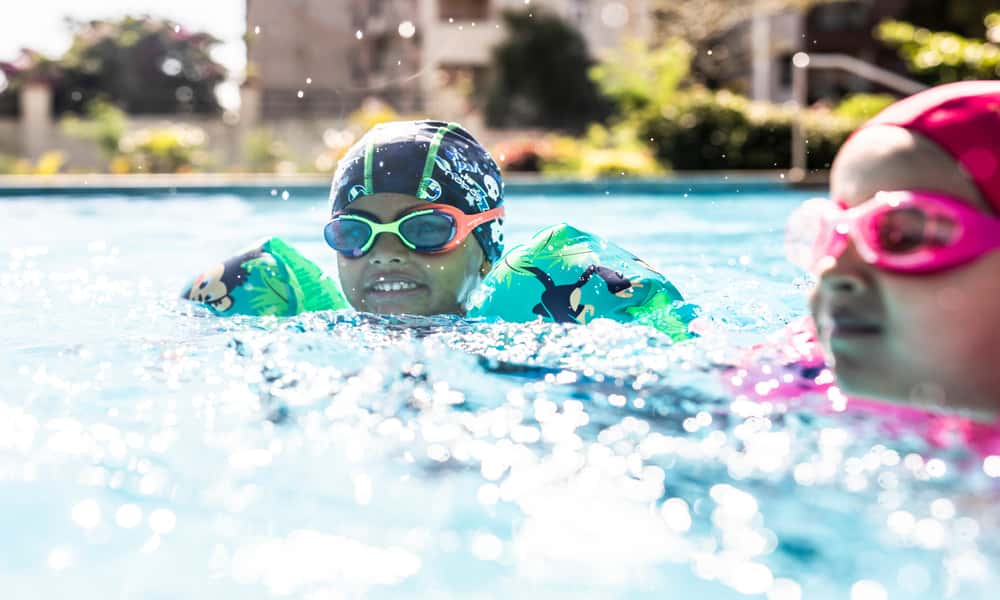 How Swimming Promotes Child's Skill Development