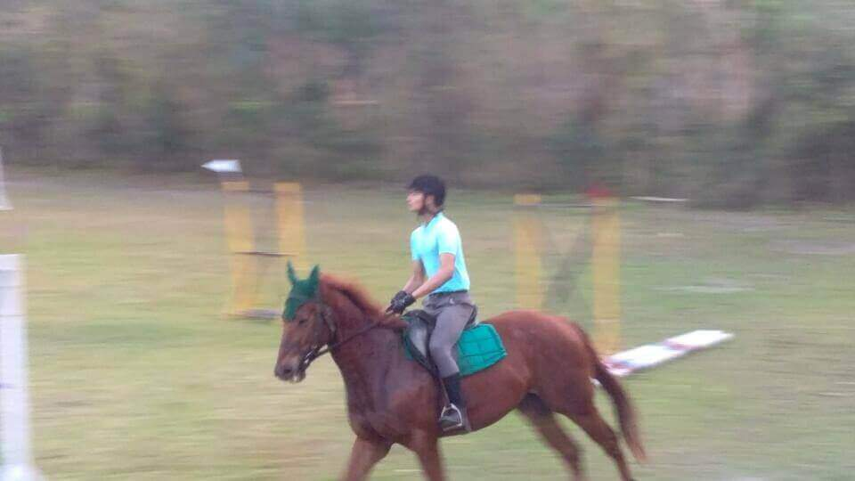 Nammier Ahmed - Horse Riding from the Age of 9