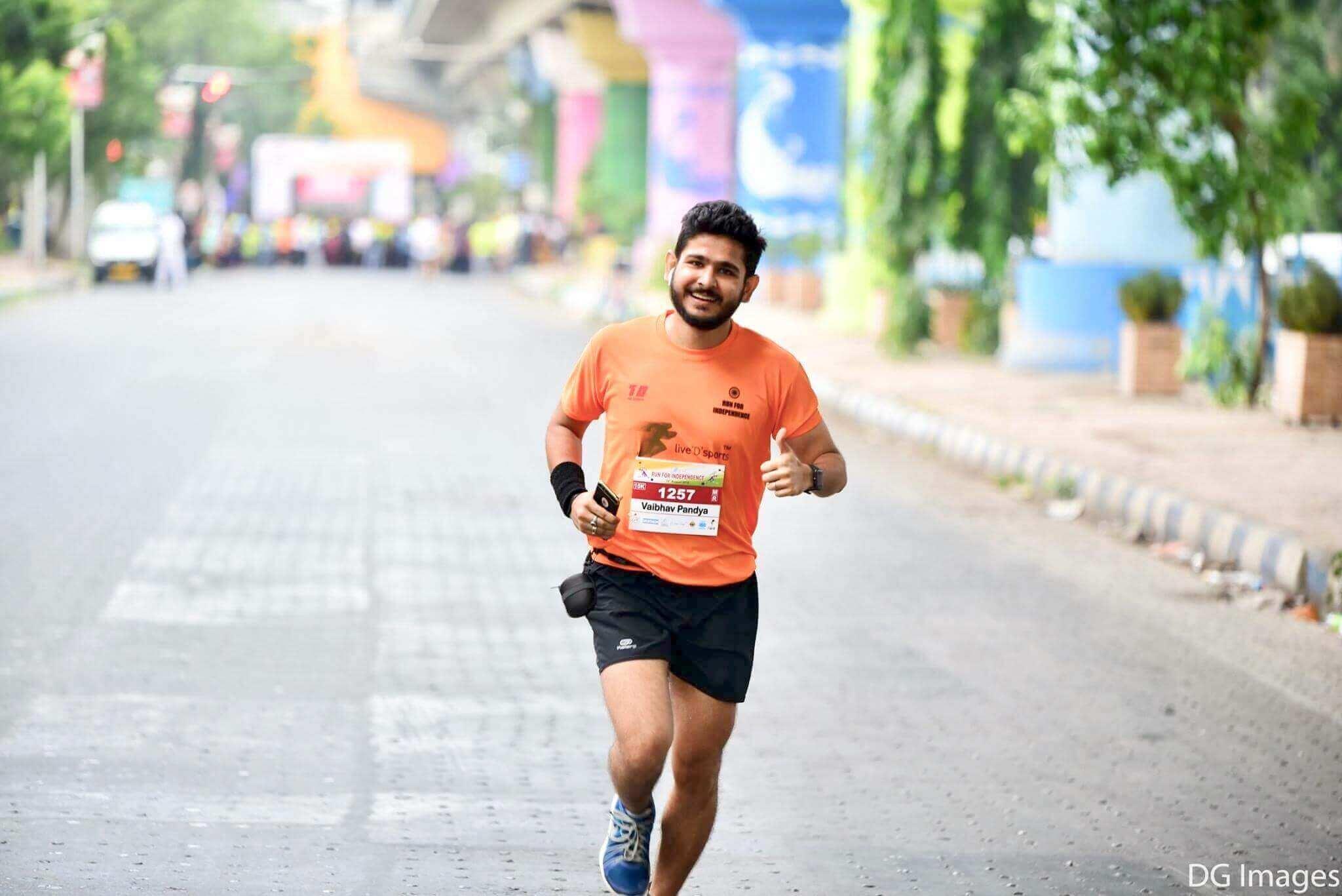 Vaibhav Pandya - Running is an addiction